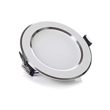 Oświetlenie downlight LED Do zabudowy SMD 5630 1100-1200LM lm Ciepła biel / Zimna biel Ściemniana AC 220-240 V 4 sztuki