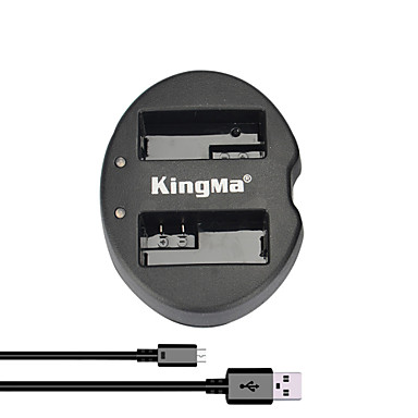 kingma® двойной слот USB зарядное устройство для Canon LP-E8 батареи для EOS 550D 600D 650D 700D камеры