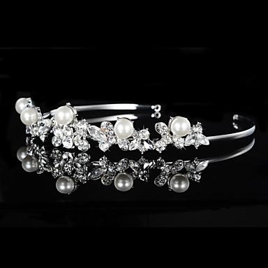 İmitasyon İnci Yapay Elmas - Tiaras Headbands 1 Düğün Özel Anlar Başlık