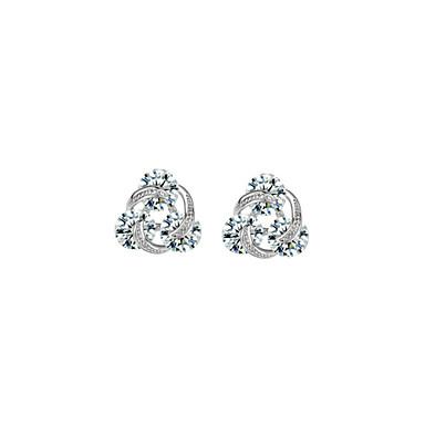 Hoop Earrings Women's Alloy Earring Imitation Pearl Elegant Style