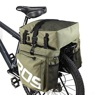 Rosewheel Sac de Vélo 35LSac de Porte-Bagage/Double Sacoche de Vélo Etanche Zip étanche Vestimentaire Résistant à l'humidité 3 en 1Sac de