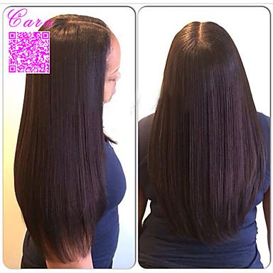 Φυσικά μαλλιά Πλήρης Δαντέλα Περούκα Ίσιο 120% Πυκνότητα 100% δεμένη στο χέρι Περούκα αφροαμερικανικό στυλ Φυσική γραμμή των μαλλιών