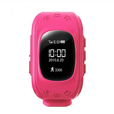 5ab4daf8773 Børn Armbåndsur DigitalLED / Touchscreen / Glide Regel / Pulsmåler /  Fjernbetjening / Kalender / Kronograf