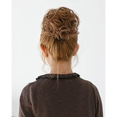 2 015 nye moten syntetisk elastisk brudens hår bun hår chignon berg Hepburn hairpieces hår syntetisk bun