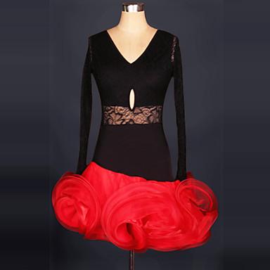 Meer Kostuums Cosplay Kostuums Carnaval Festival/Feestdagen Halloweenkostuums Roze Zwart Rood Kant