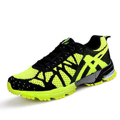 Running Shoes Men's  Synthetic / Tulle Blue / Yellow / Red