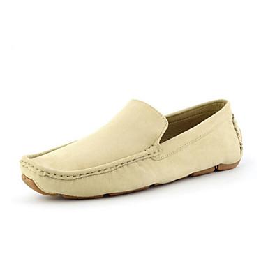 Loaferlar Ofis ve Kariyer / Günlük Sentetik Siyah / Mavi / Beyaz / Haki Erkek ayakkabı