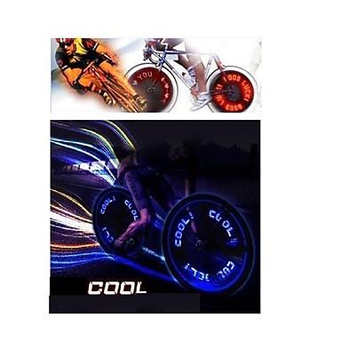 luzes da roda LED - Ciclismo Cores Variáveis AG10 90lm Lumens Bateria Ciclismo / Condução / Motocicleta