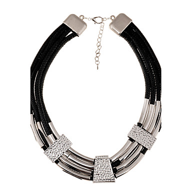 Women's Fashion European Statement Necklace Alloy Statement Necklace , Party Daily Casual