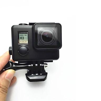 pürüzsüz Çerçeve Koruyucu Kılıf Lens Kapağı Su Geçirmez Kılıff Monopod Tripod Montaj Su Geçirmez Uygun İçin Aksiyon Kamerası Gopro 5
