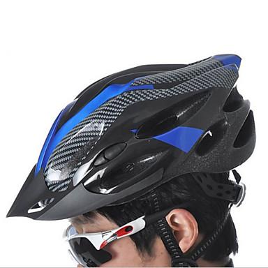 Adults Bike Helmet 21 Vents Impact Resistant, Light Weight, Adjustable Fit PVC(PolyVinyl Chloride), EPS, PC Sports Climbing / Cycling / Bike / Mountain Bike / MTB - Yellow / Black / Red+Black / Bule