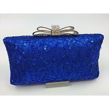 Női Táskák Minden évszak Egyéb bőrtípus Estélyi táska mert Előírásos Arany Fekete Ezüst Piros Kék