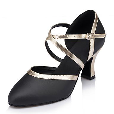 Sapatos de Dança (Preto) - Mulheres - Customizáveis - Latim