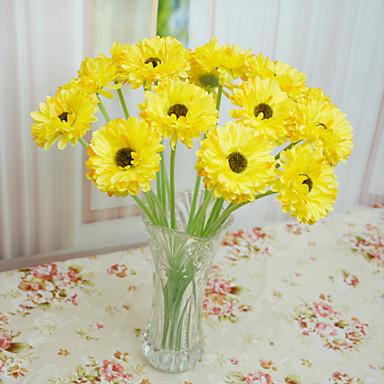 Polyesteri Päivänkakkarat Keinotekoinen Flowers