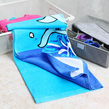 100% Cotton Dolphin Print Beach Towel