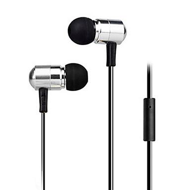 fone de ouvido estéreo de alta qualidade nos fones de metal fone de ouvido fones de ouvido viva-voz com microfone 3.5mm para fones jogador