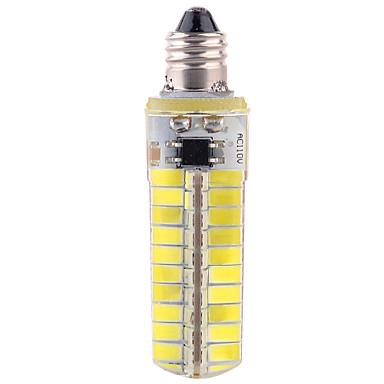 abordables Ampoules électriques-YWXLIGHT® 5pcs 12 W Ampoules Maïs LED 1200 lm E11 T 80 Perles LED SMD 5730 Intensité Réglable Décorative Blanc Chaud Blanc Froid 110-130 V / 5 pièces / RoHs