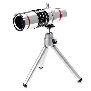 New 18× Telephone Lens for Smartphone with Clip & Universal Holder & Mini Tripod & Lens Sets