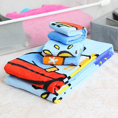 3-delige 100% katoen cartoon patroon handdoek set