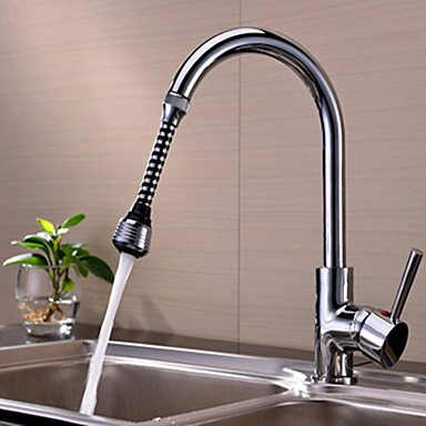 Faucet accessory-Superior Quality-Contemporary ABS Extended Filter-Finish - Chrome