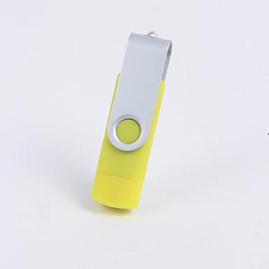 8GB minnepenn USB-disk USB 2.0 Plast Roterende