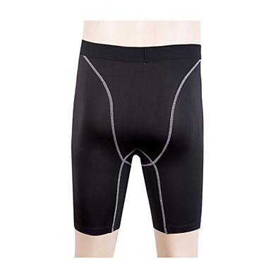 Herre Shorts til jogging / Tettsittende treningshorts sport Shorts / Bukser / Leggings Trening, Treningssenter, Trene Sportsklær Fort Tørring, Fukt Gjennomtrengelighet, Pustende / Svettereduserende
