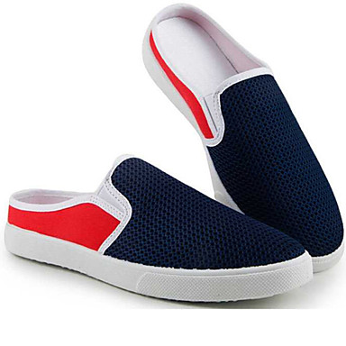Chaussons Tulle Eté Beige et Noir Confort D6148 Bleu Unisexe 06049934 Chaussures Printemps Mocassins 5qa00U