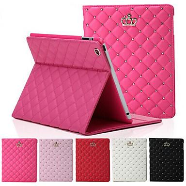 Pouzdro Uyumluluk iPad 4/3/2 Satandlı Oto Uyu / Uyan Tam Kaplama Kılıf Geometrik Desenli PU Deri için iPad 4/3/2