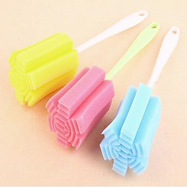 Høy kvalitet 1pc Svamp Plast Lofjerner og børste Verktøy Vern, Kjøkken Vaskemidler