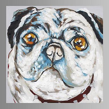 absztrakt kutya vászon nyomtatási formában készen áll a lógó otthoni dekoráció