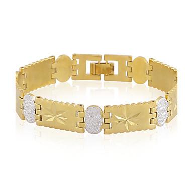 Armbänder Ketten- & Glieder-Armbänder Aleación / Kupfer Hochzeit / Party / Normal Schmuck Geschenk Goldfarben,1 Stück