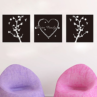 Decorative Wall Stickers - Holiday Wall Stickers Abstract Chalkboard Fashion Fantasy Living Room Bedroom Kitchen Dining Room Study Room /