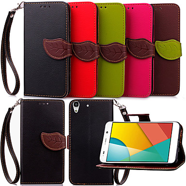Case For Huawei Huawei Case Full Body Cases Solid Colored PU Leather for Huawei