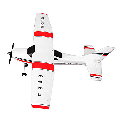 WL Toys F949 3 Kανάλια 2,4 G RC αεροπλάνο Έτοιμο για ΧρήσηΤηλεχειριστήριο Καλώδιο USB 1 Uπαταρία Yια Tο Pομποτάκι Αεροσκάφος Κατσαβίδι