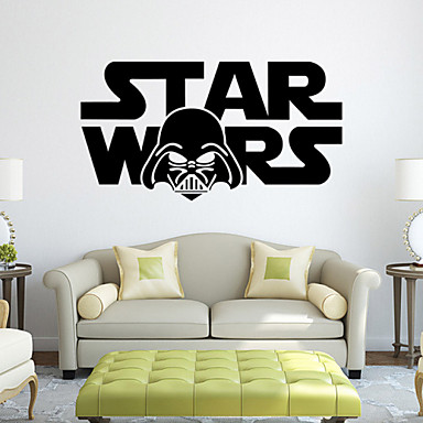 W-13Star Wars Wall Art Sticker Wall Decal DIY Home Decoration Wall Mural Removable Bedroom Sticker