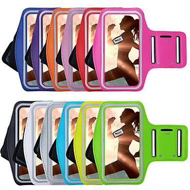 Case For iPhone 7 Plus iPhone 7 iPhone 6s Plus iPhone 6 Plus iPhone 6s iPhone 6 Universal with Windows Armband Armband Solid Color Soft