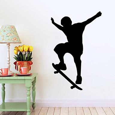 Dekorative Mur Klistermærker - Folk Wall Stickers Mennesker / Mote / Sport Stue / Soverom / Baderom