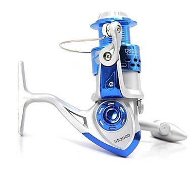 Spinne-hjul 5.2:1 Gear Forhold+8.0 Kulelager Hånd Orientering Byttbar Søfisking Agn Kasting Isfikeri Spinne Ferskvannsfiskere Annen
