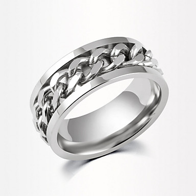 Men's Women's Couple Rings Fashion Alloy Costume Jewelry Daily Casual