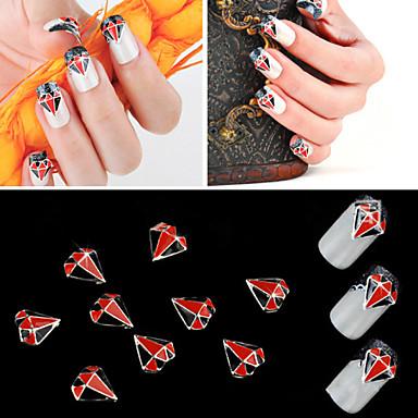 Jóias de Unhas - Punk - para Dedo - de Metal - com 5pcs - 2 - ( cm )