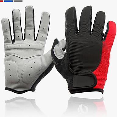 IZUMI® Sports Gloves Bike Gloves / Cycling Gloves Anti-skidding Shockproof Full-finger Gloves Spandex Cycling / Bike Men's Women's