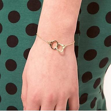 Bracelet Gold Silver Handwrist Bracelet Christmas Gifts Chain Bracelet Charm Women Girls Jewelry