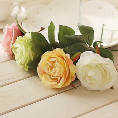 Polyester Güller Yapay Çiçekler