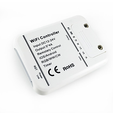 inteligente rgb aplicativo de controle sem fios e controlador warmwhite