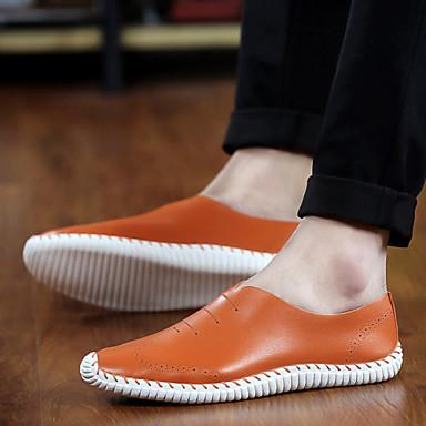 Erkek Ayakkabı Tüylü Bahar Yaz Sonbahar Kış Rahat Gore Uyumluluk Günlük Beyaz Kahverengi Yeşil