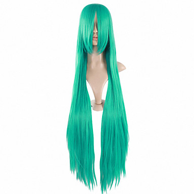 Synthetic Wig Straight Women's Capless Long Synthetic Hair