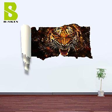애니멀 로맨스 풍경 모양 판타지 벽 스티커 3D 월 스티커 데코레이티브 월 스티커 자료 이동가능 홈 장식 벽 데칼
