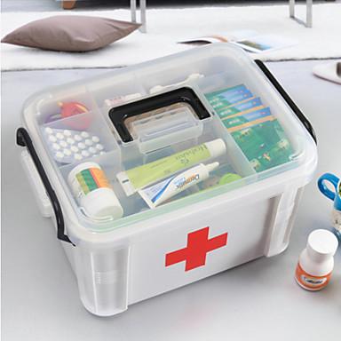 yeni aile sağlık tıbbı göğüs hap kutusu ilk yardım scrapbooking& damgalama kitleri