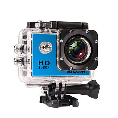 povoljno Sportski aparati i oprema za GoPro-SJCAM SJ4000 Akcija kamere / Sports Camera GoPro Vlogging Vodootporno / Višefunkcijski / LCD 32 GB 30fps 12 mp 4X 4000 x 3000 Pixel Ronjenje / Univerzális / Skydiving 2 inch CMOS H.264 Pojedinačno