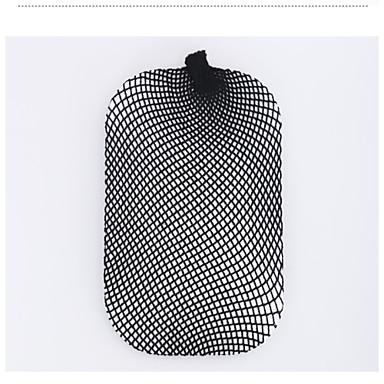 Fashion Stretchable Elastic Hair Nets Snood Women's Nylon Wig Cap Black 2pc